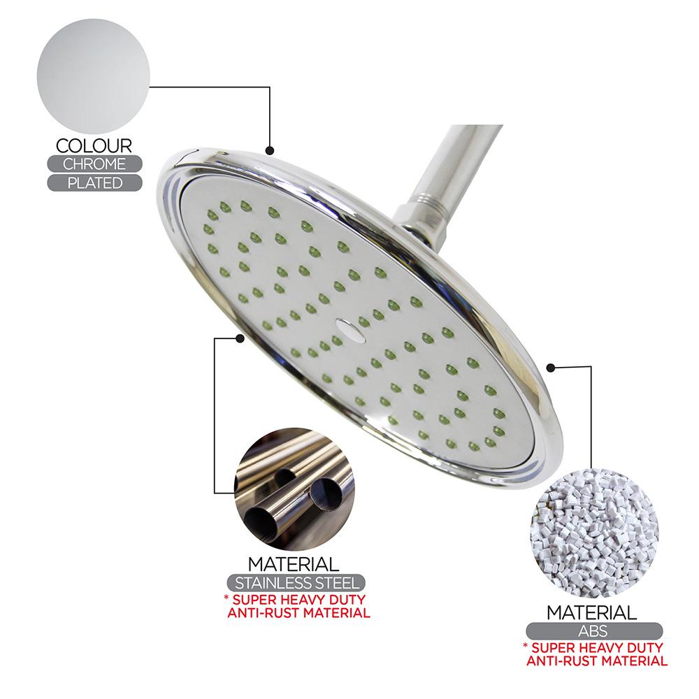 Shower Head & Hand Shower|ECO Shower|ECO Air-Turbo Rain Shower