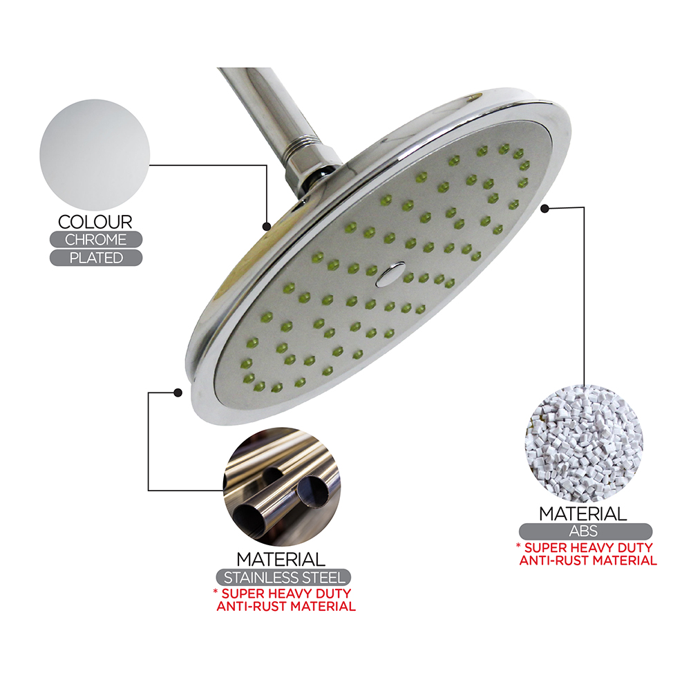 Shower Head & Hand Shower ECO Shower ECO Air-Turbo Rain Shower