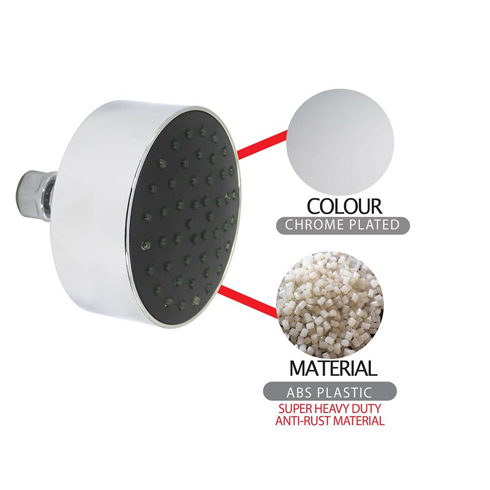 Shower Head & Hand Shower|Shower Rose|ECO Shower Rose|ECO Air-Turbo Wall Shower