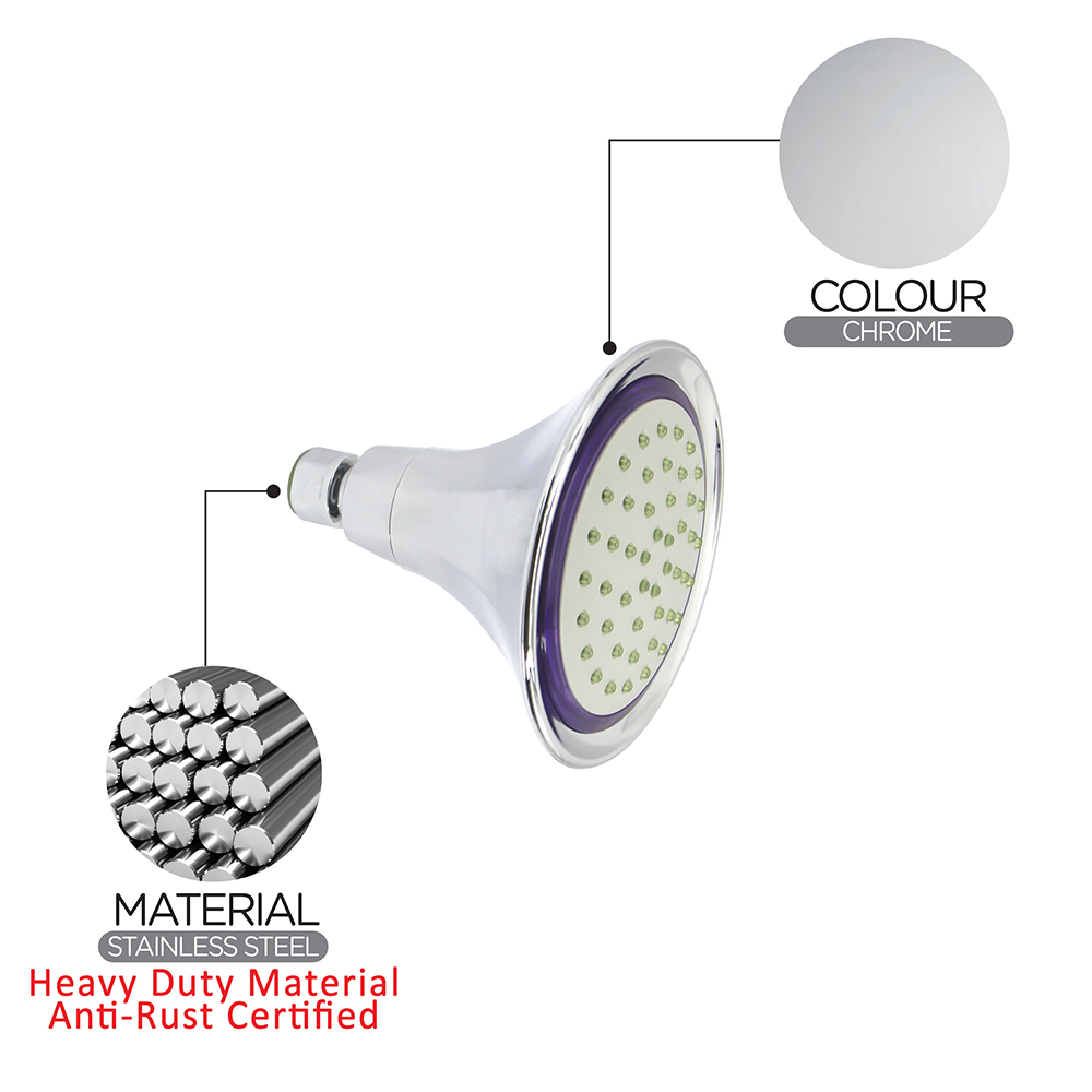 Shower Head & Hand Shower|Shower Rose|ECO Shower Rose|ECO Air-Turbo Wall Shower