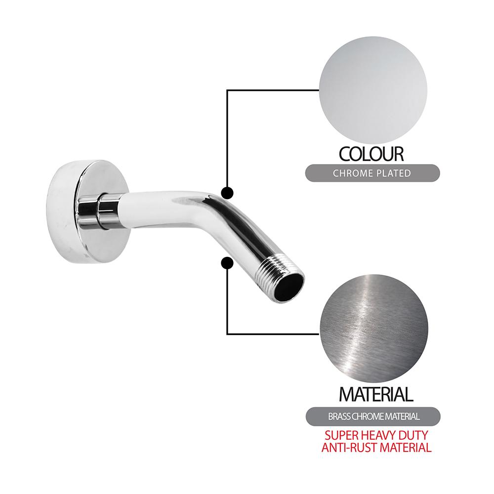 Shower Head & Hand Shower|Shower Rose|ECO Shower Rose|Short shower arm