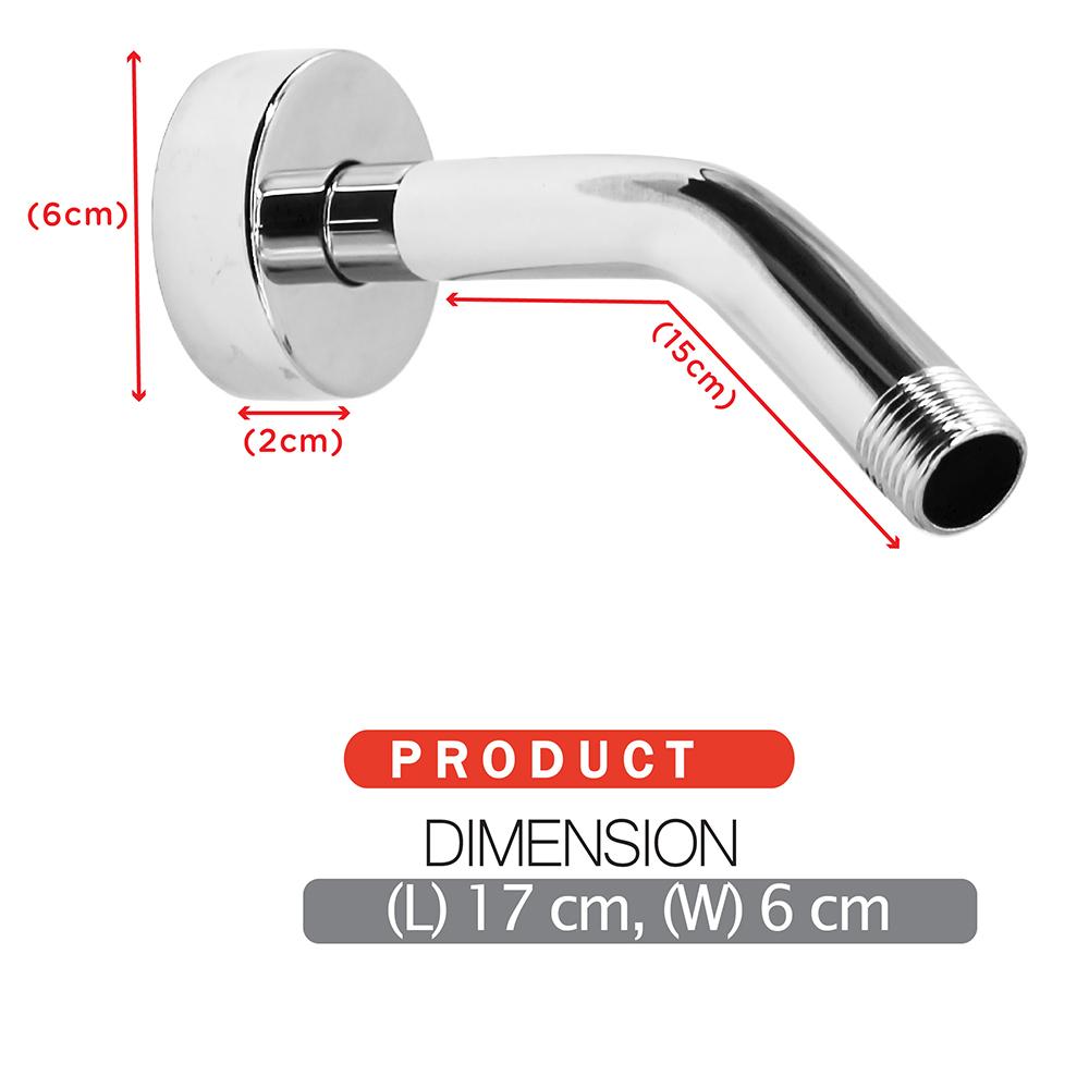 Shower Head & Hand Shower Shower Rose ECO Shower Rose Short shower arm